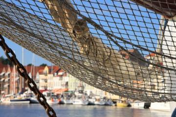 Die Hafenstadt Svendborg