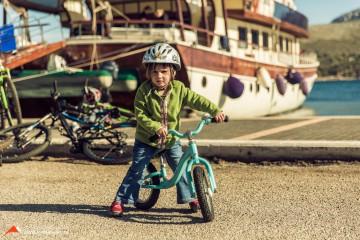 Radtouren für große und kleine Gäste