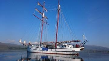 Die Flying Dutchmann der Inselhüpfen-Flotte