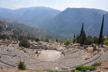 Delphi das Zentrum der Antike